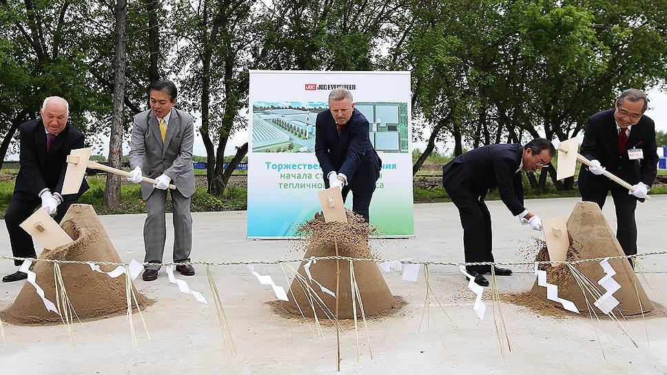 Строительство тепличного комплекса стартовало в Хабаровске