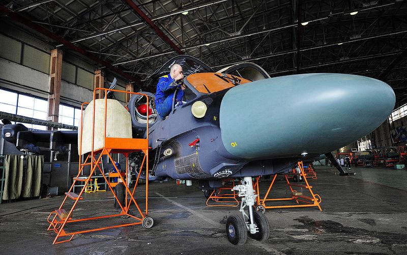 """Производство боевых вертолетов Ка-52 """"Аллигатор"""""""