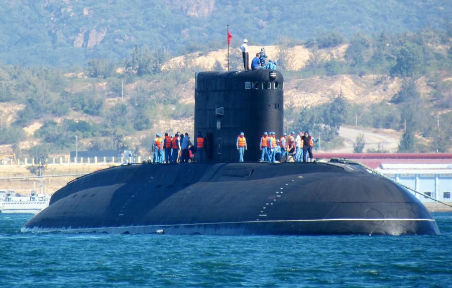 Во Вьетнам прибыла четвертая российская подводная лодка проекта 636.1