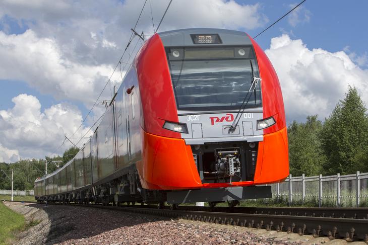 РЖД получили первые восемь уральских скоростных электропоездов «Ласточка»