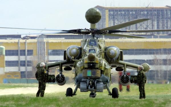"""Ирак получил очередную партию российских ударных вертолетов """"Ночной охотник"""""""