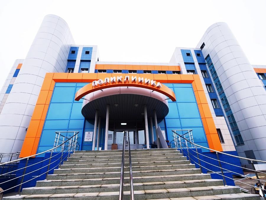 В Нижнекамске (Республика Татарстан) открыли новую поликлинику