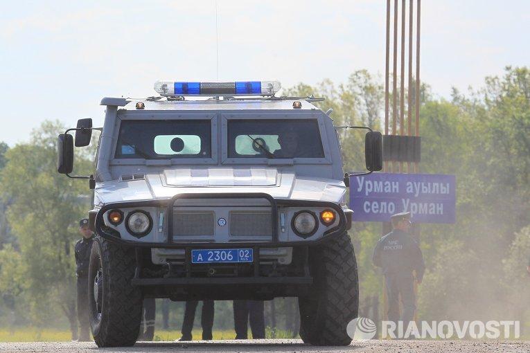 """Более 30 бронированных автомобилей """"Тигр"""" поступили в бригаду Центрального Военного Округа"""