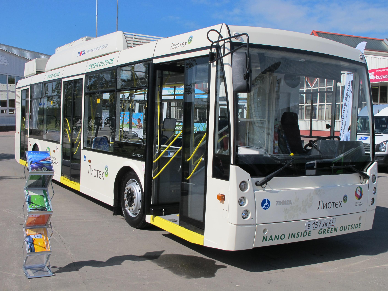 Новые троллейбусы могут проехать более 70 километров без контактной сети