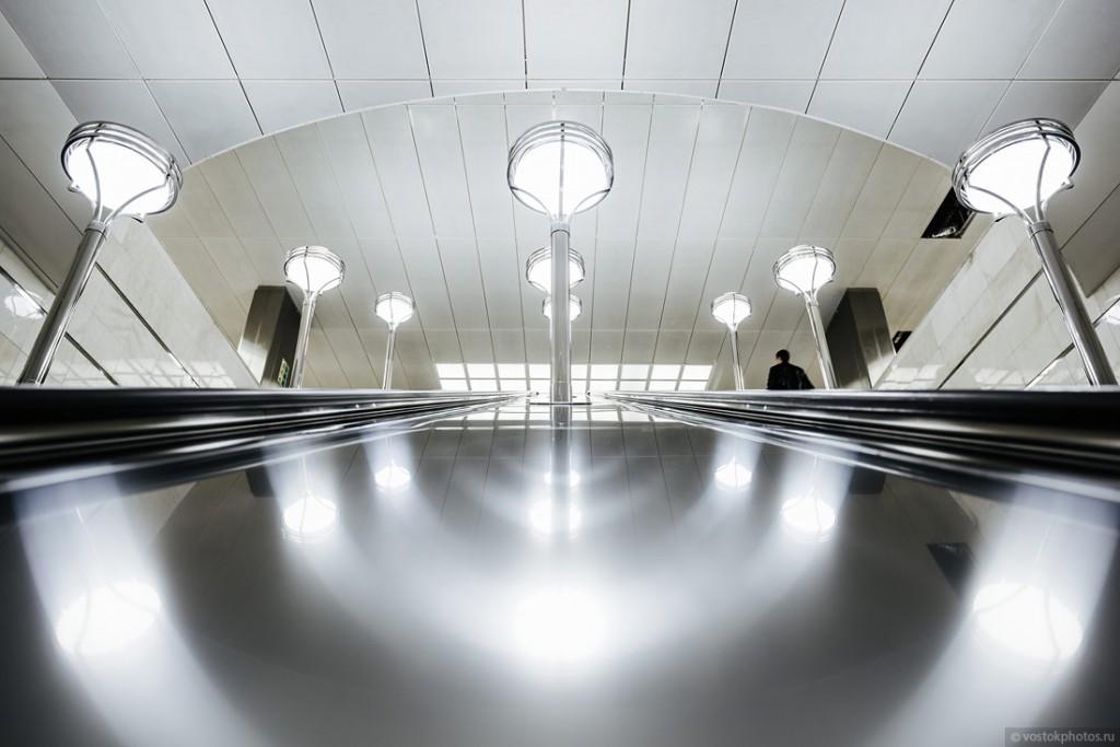 Эскалатор станции метро Котельники