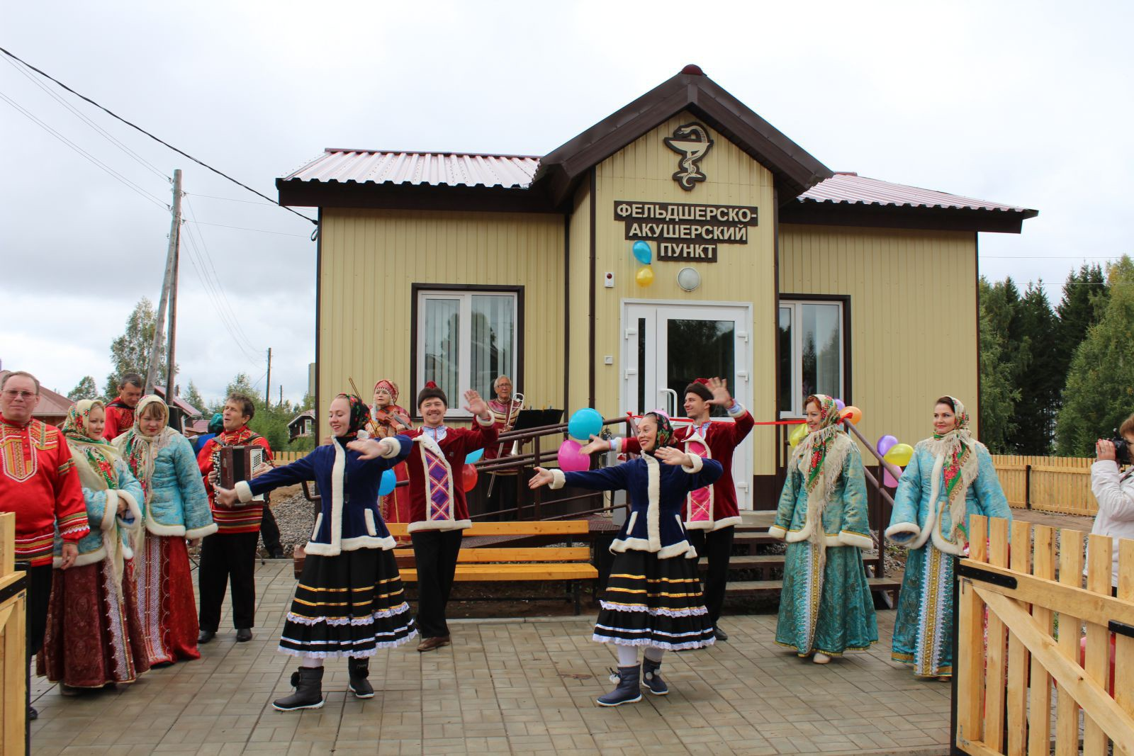 Новый фельдшерско-акушерский пункт открылся в Добрянском районе Пермского края