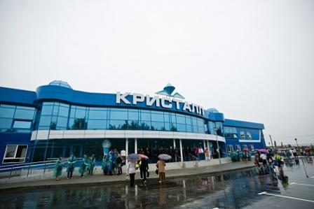 В Оренбургской области открылся новый ледовый дворец