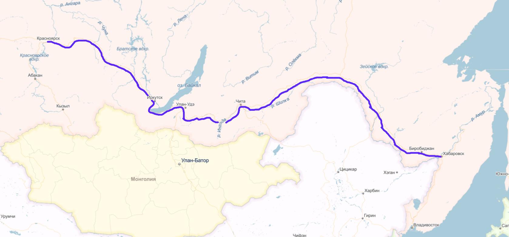 МТС построила новую оптическую линию связи между Сибирью и Дальним Востоком