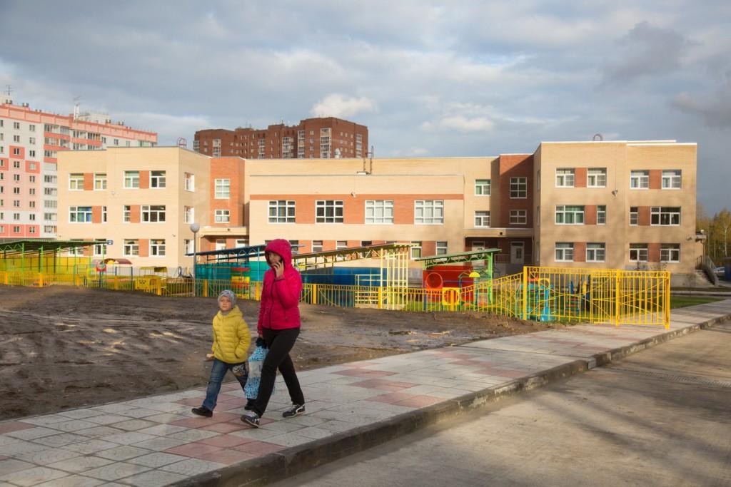 В Новосибирске открыт новый детский сад «Ладушки» на 295 мест