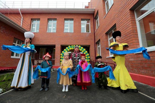 В Иркутской области открылся самый большой детский сад в сельской местности