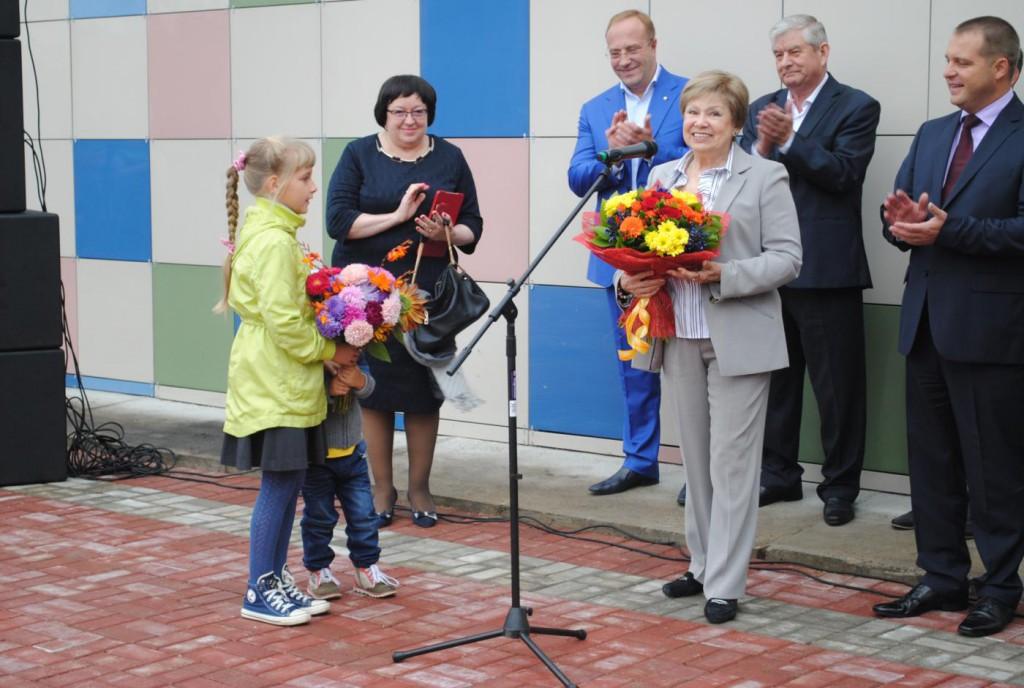В Калужской области открылась школа олимпийского резерва имени Ларисы Латыниной