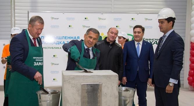 В Татарстане запущено строительство агропромышленного парка «Заман»