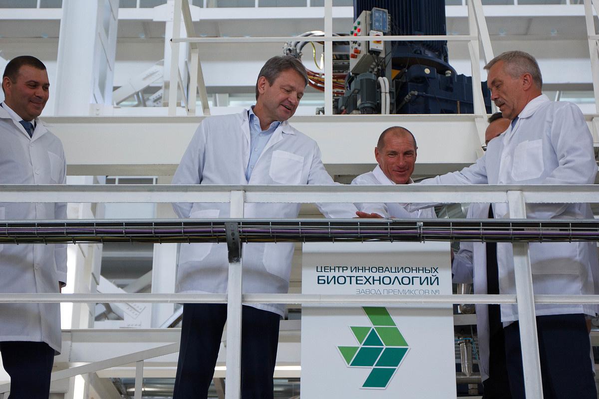 Под Белгородом открылось единственное в СНГ производство аминокислоты для комбикормов
