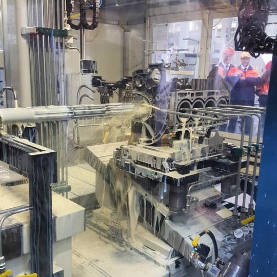 Ford стал первым иностранным автопроизводителем, открывшим в России завод по выпуску двигателей