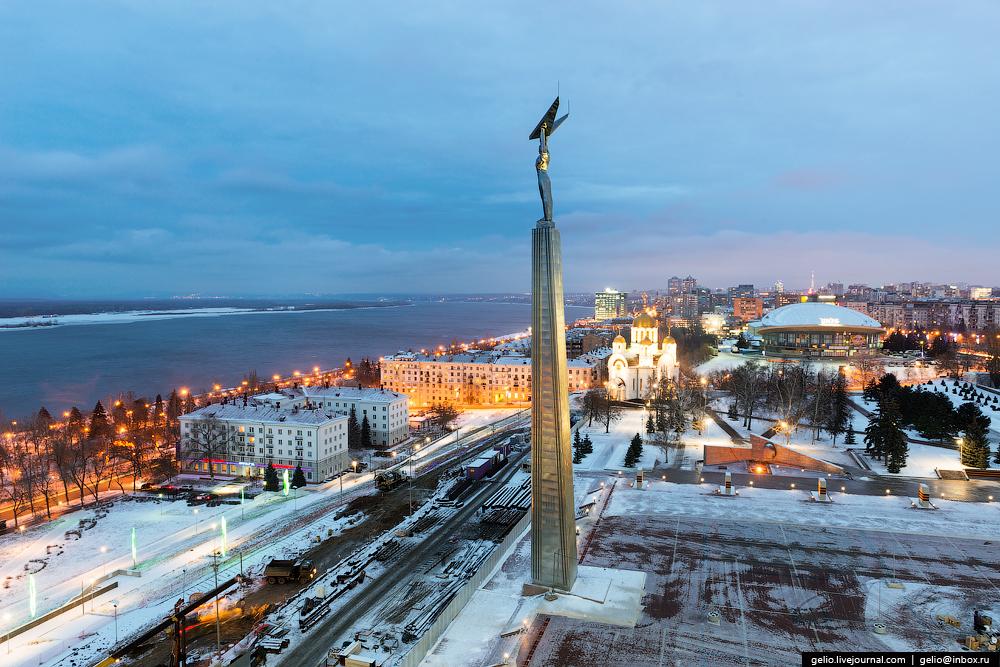 Монумент Славы — один из главных символов Самары