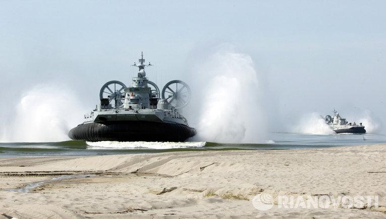 В России разработали десантное судно на воздушной подушке нового поколения