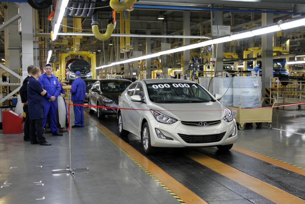 «Автотор» в Калининградской области начал сборку Hyundai Elantra