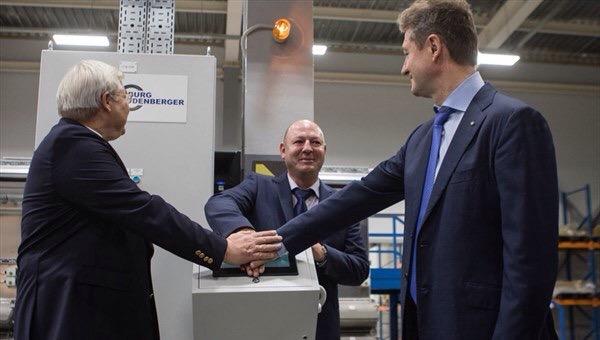 В Томске «Сибкабель» открыл новое производство изоляционной резины