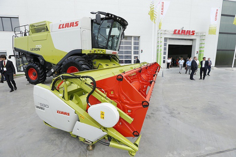 В Краснодаре открыта вторая очередь завода сельскохозяйственной техники CLAAS