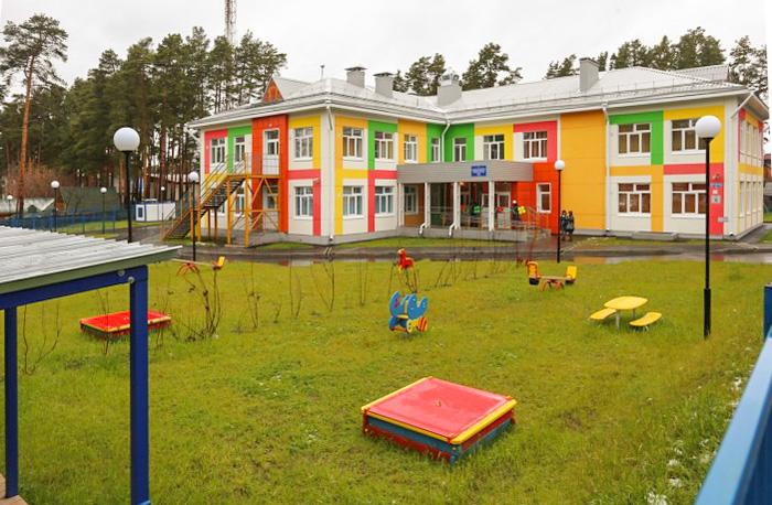 Новый корпус на 145 мест открылся в детсаду селе Тимирязево под Томском
