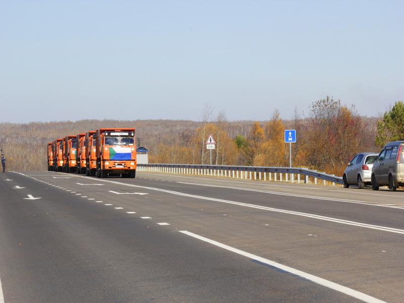 Участок автодороги А-370 Уссури в Хабаровском крае ввели в эксплуатацию