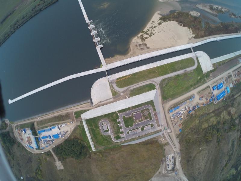 На Оке заработал в штатном режиме новый гидроузел Кузьминск