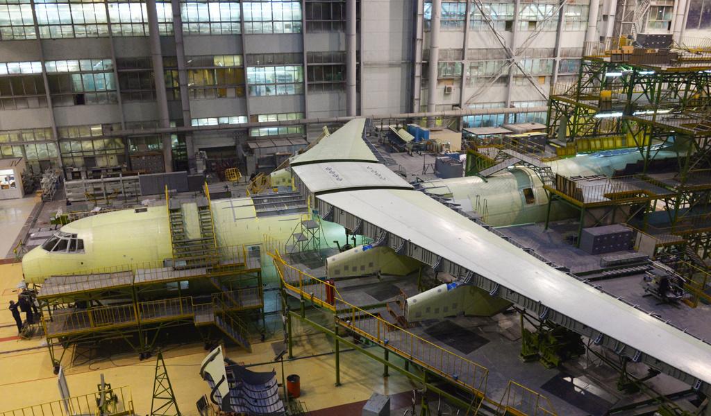 Строительство топливозаправщика Ил-78М-90А в Ульяновске