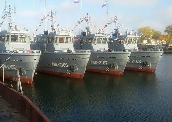 Четыре катера аварийно-спасательного обеспечения передали Балтийскому флоту
