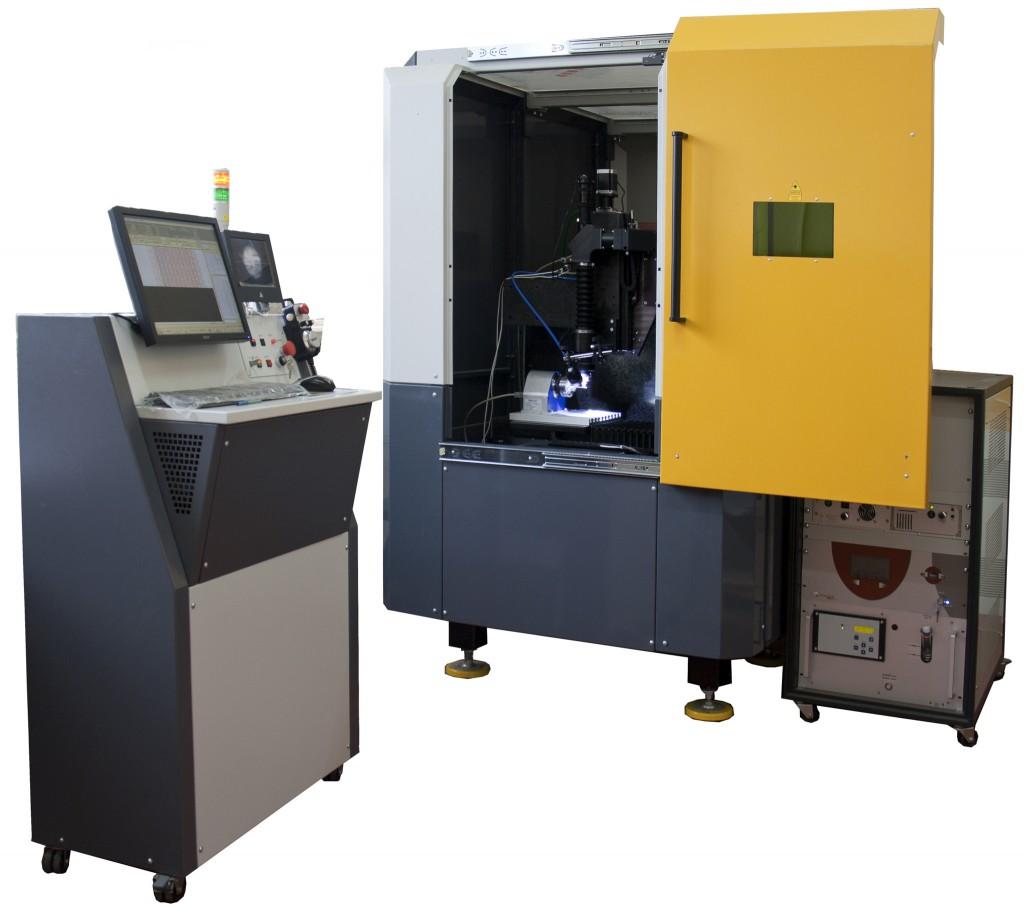 Машина лазерная для микрообработки МЛП1. Лазерная резка, фрезеровка, скрайбирование, прошивка отверстий