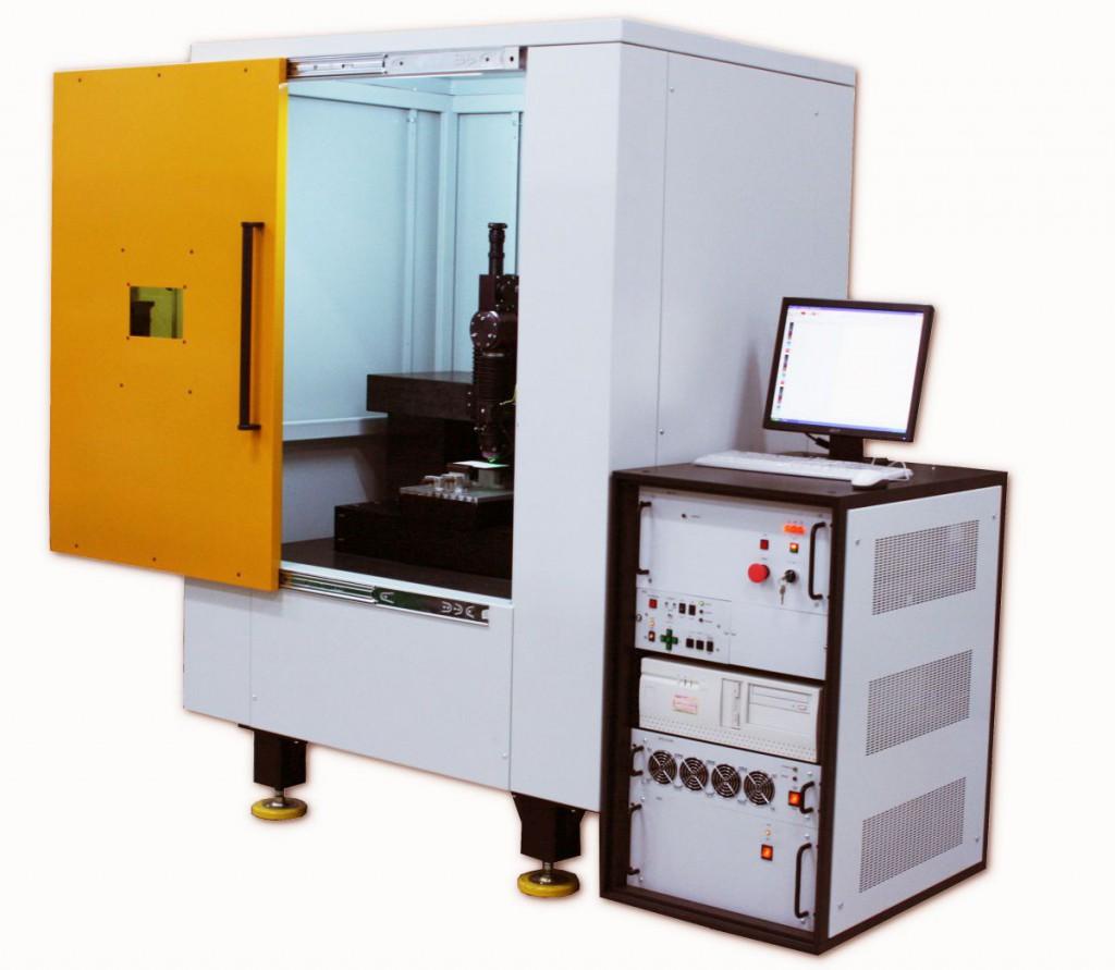 Машина лазерная для маркировки и гравировки МЛП2 Турбо. Прецизионная гравировка, обработка тонкопленочных материалов, размер поля обработки до 600*800 мм