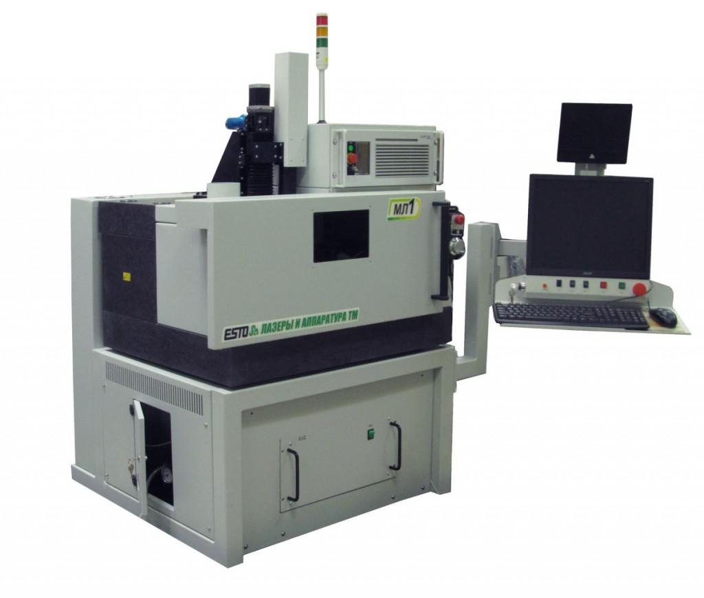 МЛП1-ФемтоЛаб. Лазерная резка, фрезеровка, скрайбирование, прошивка отверстий