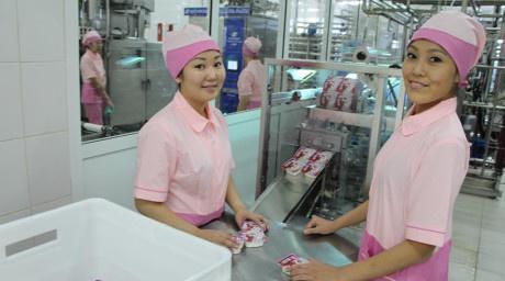 В Якутске состоялось открытие детского молочного комбината