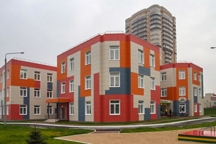 Новый детсад на 240 мест открыли в городе Туле
