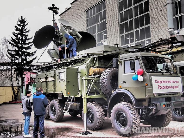 Новейшие комплексы РЭБ «Красуха-4» поступили в Восточный военный округ