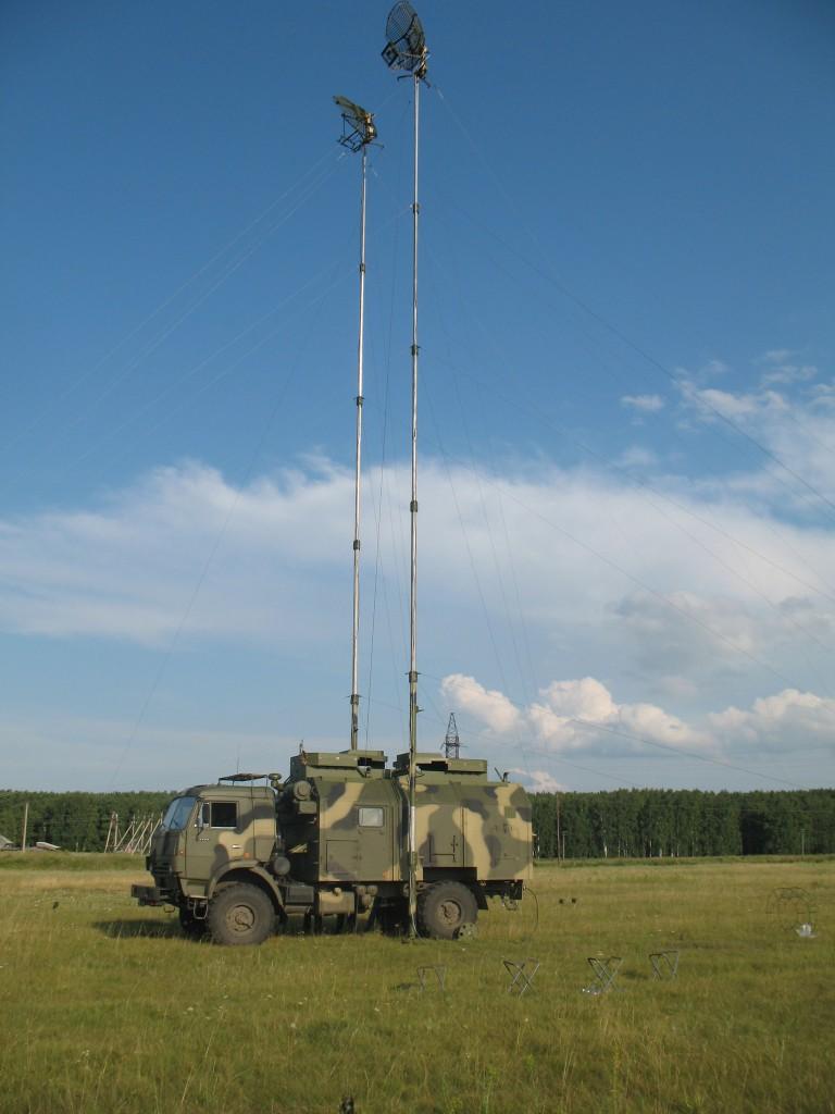 Центральный Военный Округ получил новые радиорелейные станции