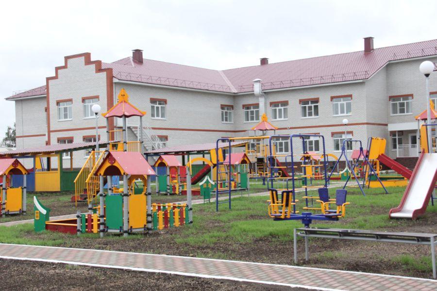 Новый детский сад на 150 мест открылся в поселке Верховье Орловской области