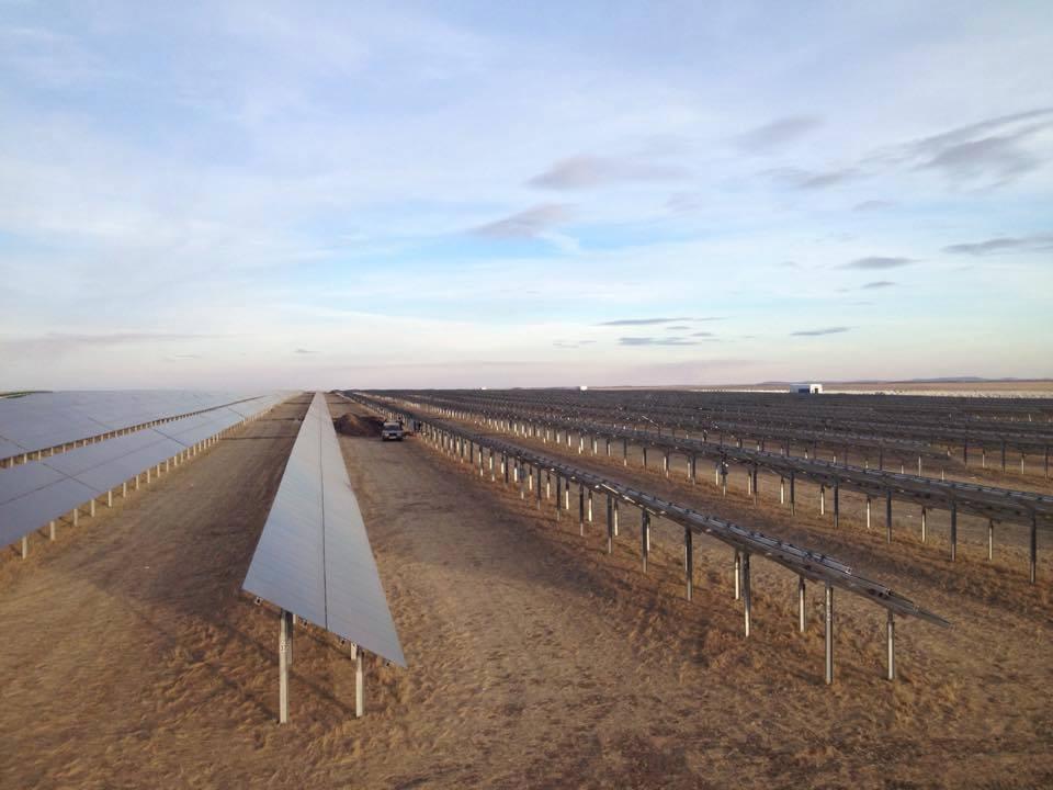Первая очередь новой солнечной электростанции запущена в селе Бурибай Республики Башкортостан
