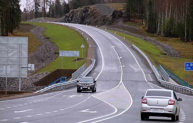 В Карелии открыт новый участок автодороги А-121 «Сортавала»