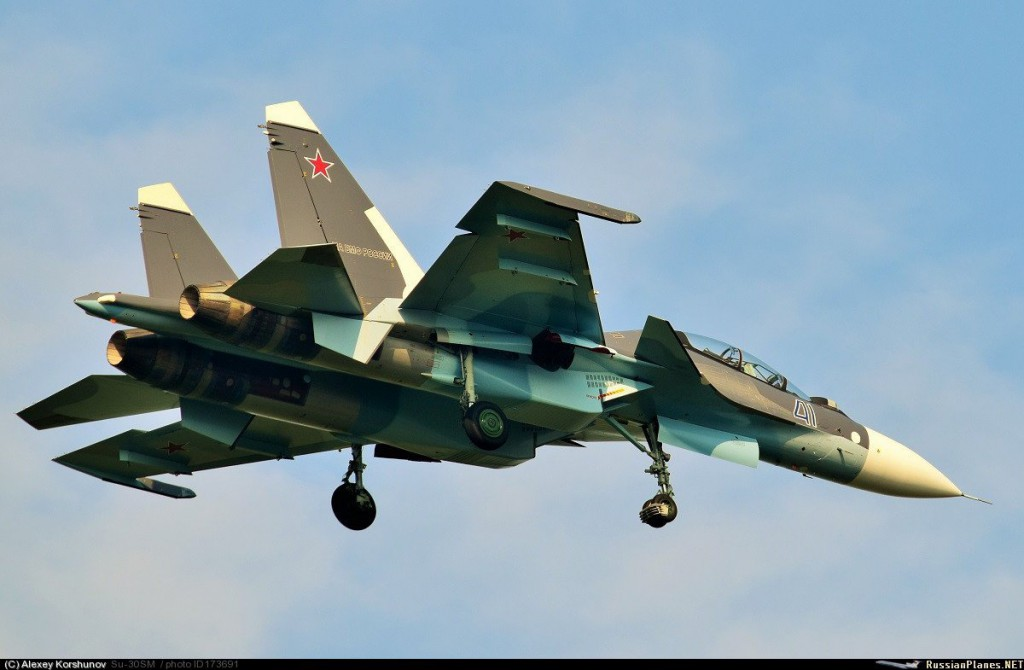 Новые Су-30СМ для авиации ВМФ - очередная партия передана