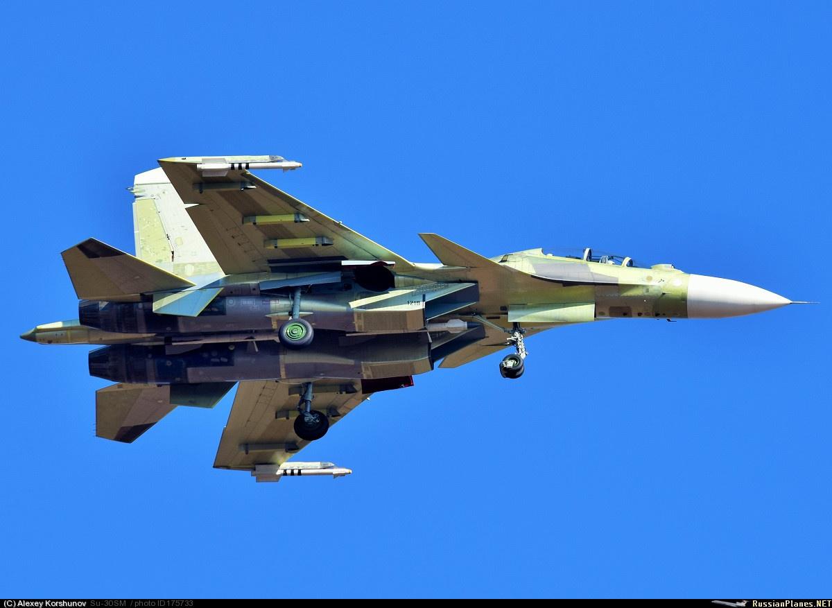 Очередной Су-30СМ совершил первый полет