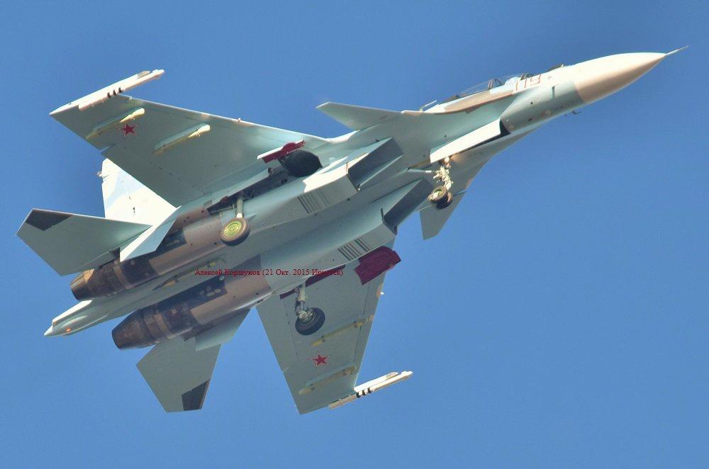 Очередной Су-30СМ для ВВС России