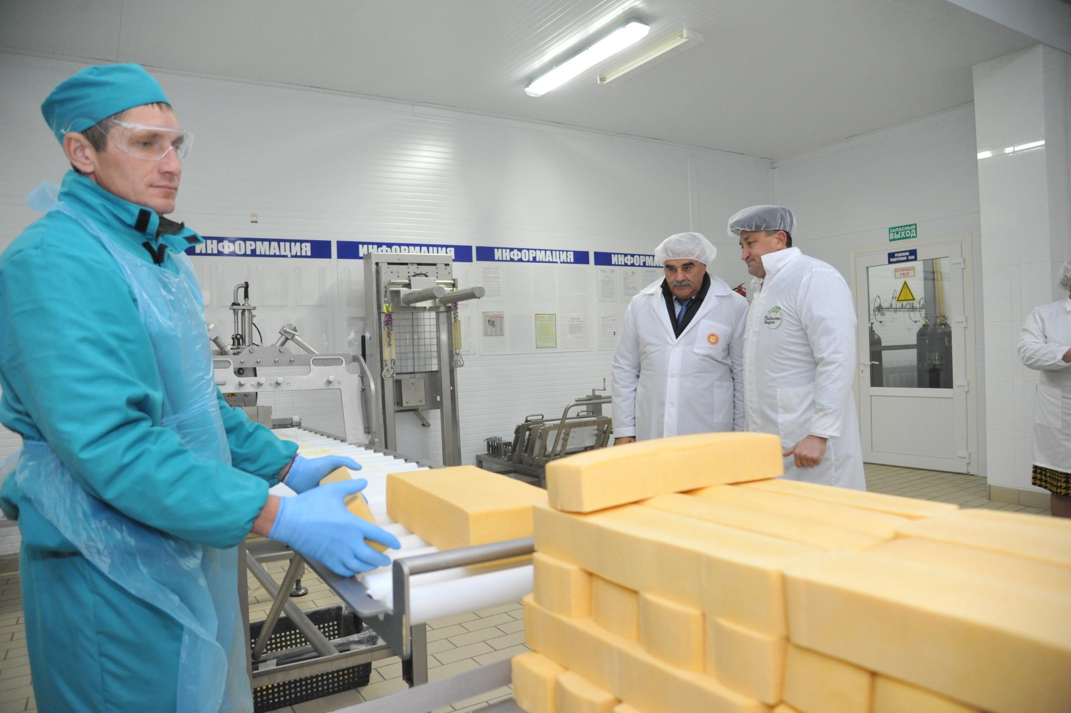 В Волгоградской области на «Еланском маслосыркомбинате» открыты новые цеха