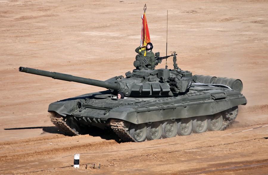 Восточный Военный Округ получил первую партию танков Т-72Б3