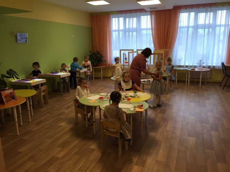 В Воронежской области открыли детский сад на 380 мест