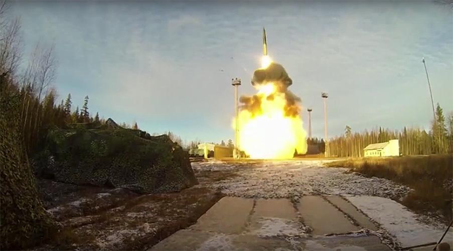 Вооруженные силы России проверили ядерную триаду