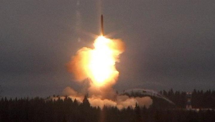 Баллистическую ракету «Ярс» успешно запустили с Плесецка