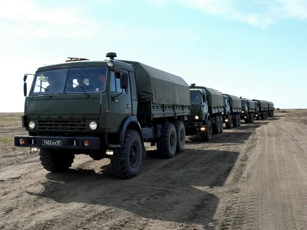 Новая автомобильная техника поступила в Восточный военный округ.