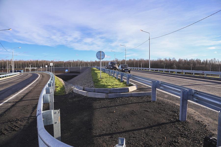 На 109 км автодороги А114 Вологда — Новая Ладога открыта для движения новая развязка