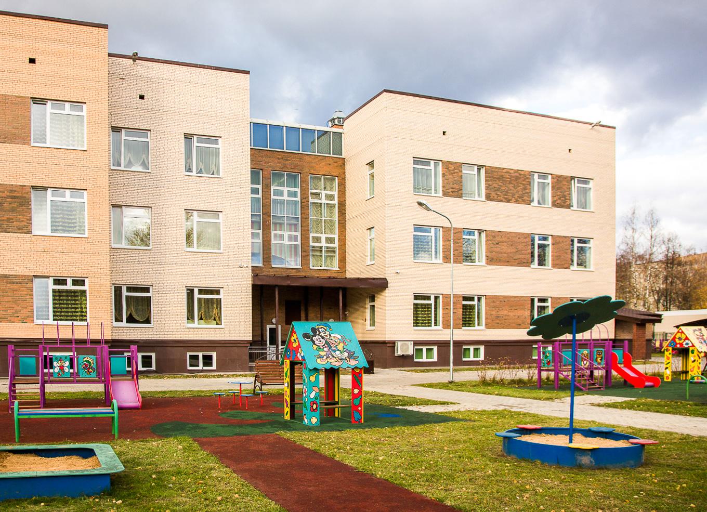 Детсад на 350 мест «Жемчужинка» открылся в Одинцово Московской области