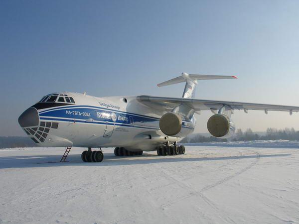 Успешно выполнена 1-я посадка Ил-76ТД-90ВД на ледовый аэродром в Антарктиде